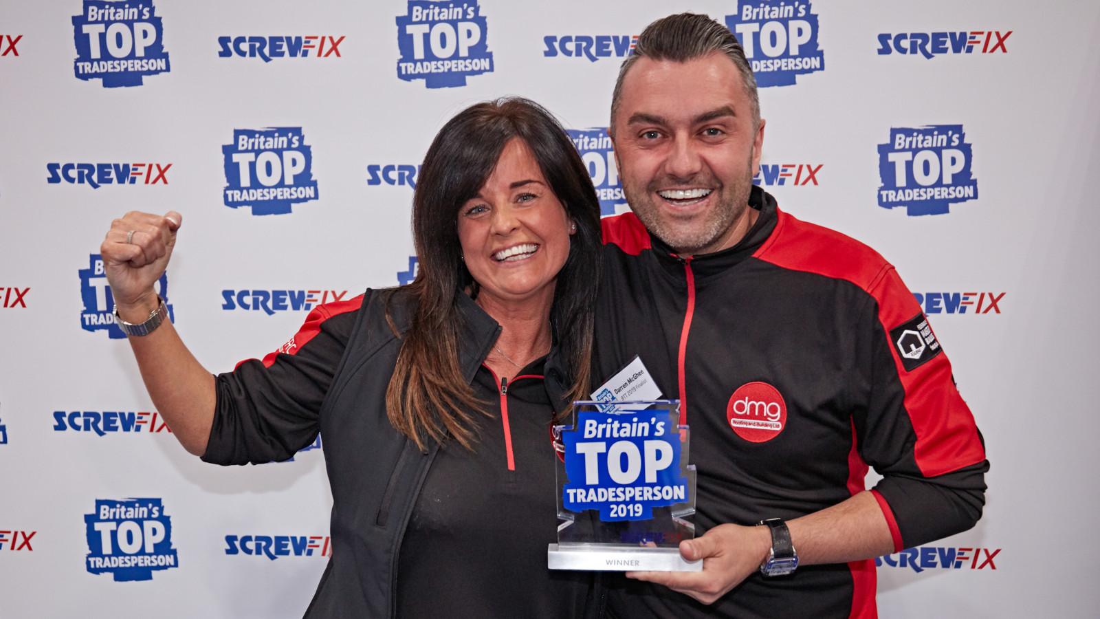 MEET Screwfix's Britain's Top Tradesperson 2019 – third generation roofer Darren McGhee