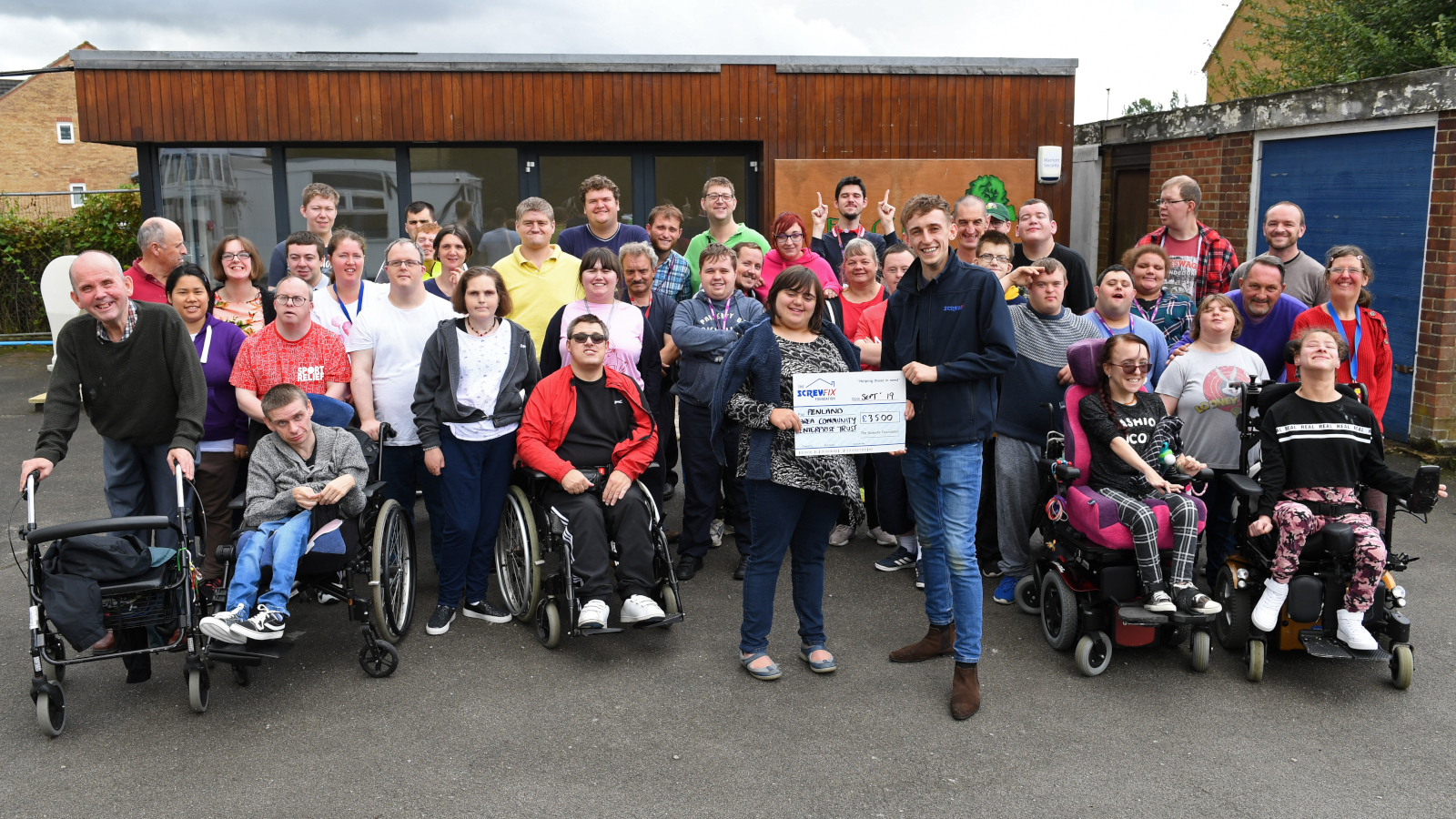 The Screwfix Foundation supports Fenland Area Community Enterprise Trust