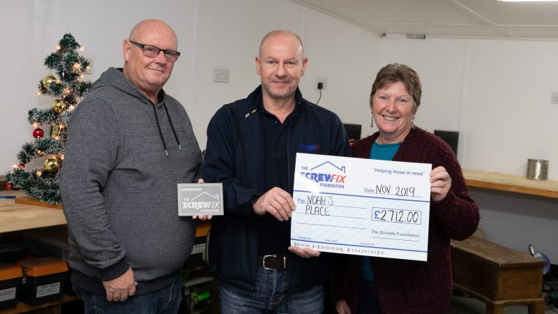 The Screwfix Foundation supports Noah's Place in Devon