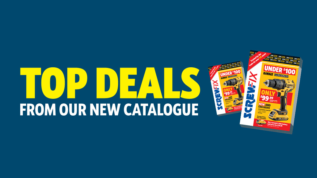 More than 600 new products in the 140th Screwfix catalogue