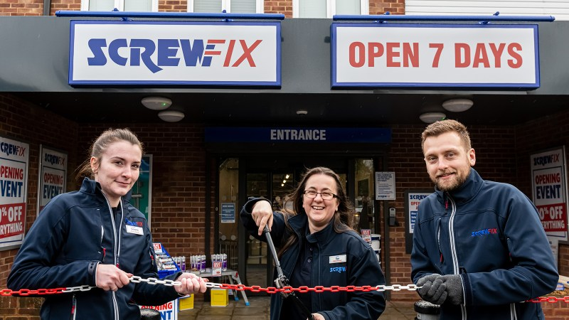 New Screwfix store opens in Gerrards Cross