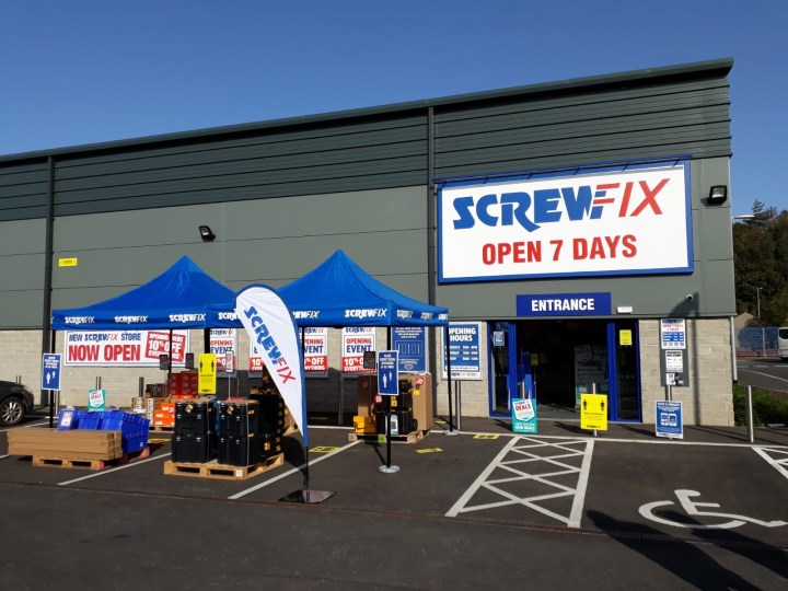 New Screwfix Store welcomed Ulverston