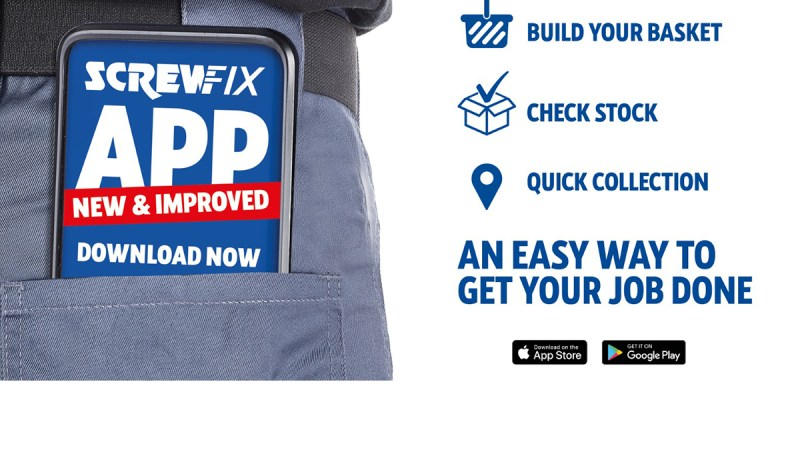 Screwfix launches new app