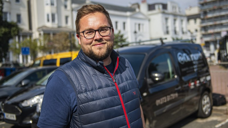 Electrician from Brighton reaches final of Screwfix Top Tradesperson 2021