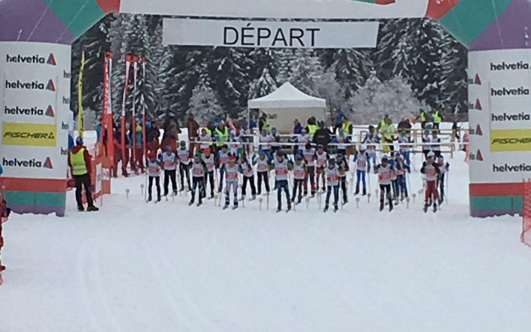 Finale des Helvetia Nordic Games aux Mosses