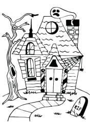 haunted coloring pages mansion vampire rip bat drawing printable printables getcolorings sheet scary print luigi para scribblefun drawings getdrawings colori