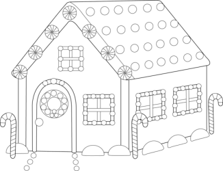 gingerbread coloring pages outline clip blank clipart pdf bread cliparts drawings christmas line library printable designs simple sweetclipart palazzo vecchio