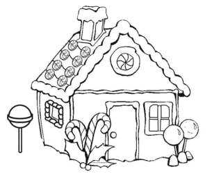 coloring gingerbread pages drawing christmas sketch print step colouring houses printable colorful clipart easy pencil simple drawings amazing cute xmas