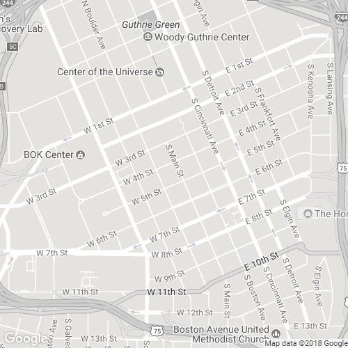 Downtown Tulsa : Scribble Maps