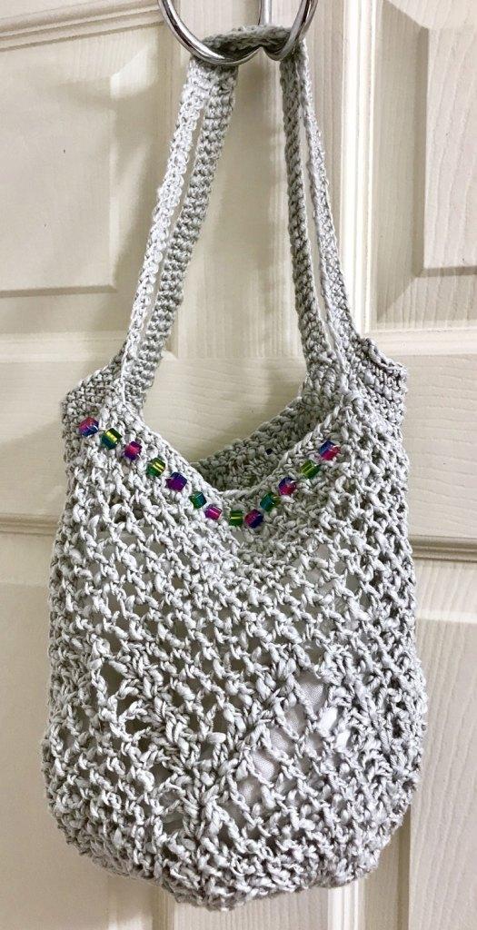 Pinterest Challenge Crochet Pineapple Market Bag Free Pattern