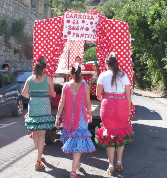 The romeria of Benamahoma, at the beginning of June.
