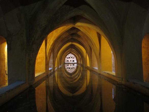 The Baths of Maria Padilla, a secret hideaway under the palace.