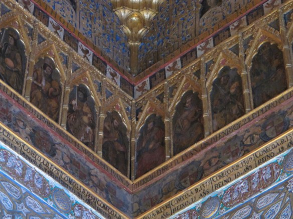 Gallery of kings in the Ambassadors´Hall.