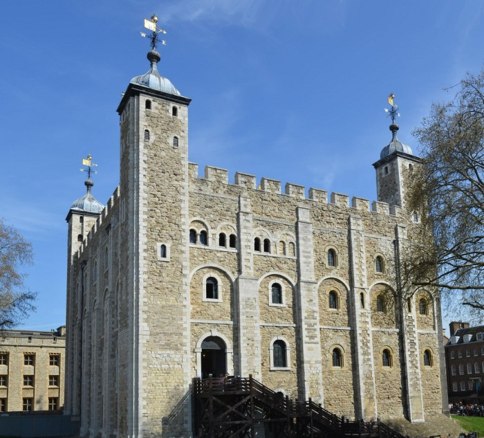 The White Tower, built under William the Conquerir's orders. Xiquinho Silva/Flickr under Creative Commons Licence