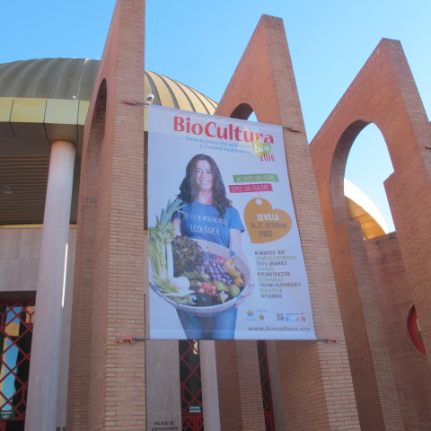 BioCultura at FIBES in Seville, 26-28 February.