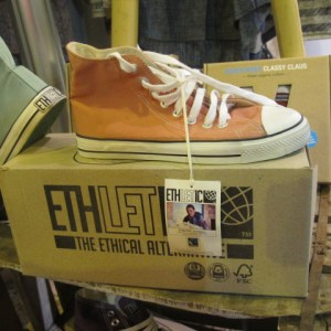 Ethletic fair-trade eco-sneakers.