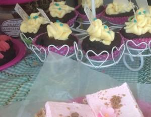 Fabulous vegan cupcakes from La Vieja Fabrica.