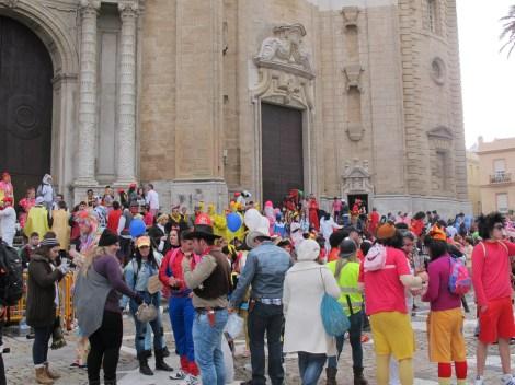cathedral, cadiz, carnaval