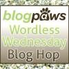 BlogPaws Wordless Wednesday Blog Hop Logo
