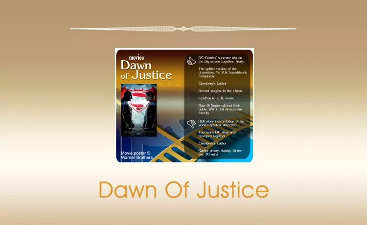 Movie Review: Dawn of Justice