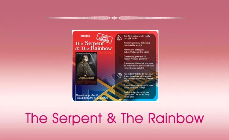 Movie Review: The Serpent and The Rainbow