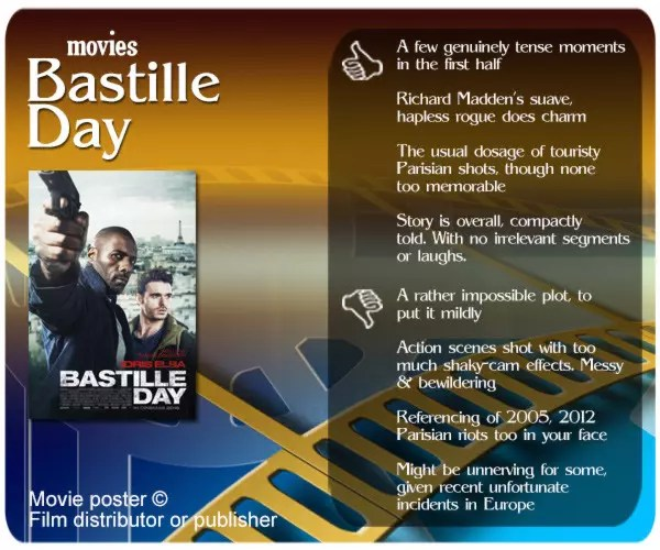 Bastille Day movie review.