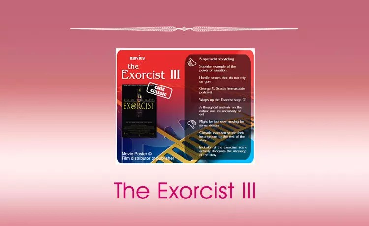 Classic Movie Review: The Exorcist III