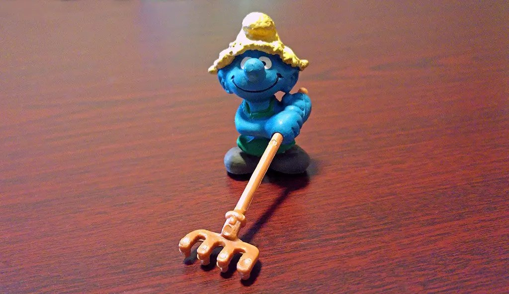 Smurfs. Surviving the challenges of the world through good, old fashion hard labour, and with a smile!