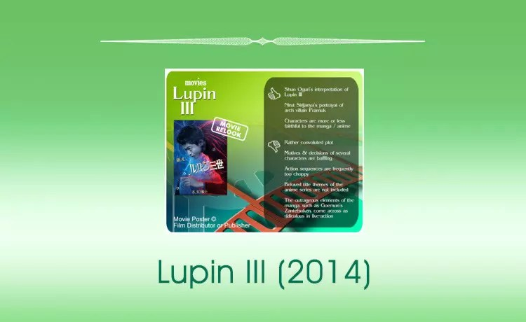 Movie Review: Lupin III (2014)