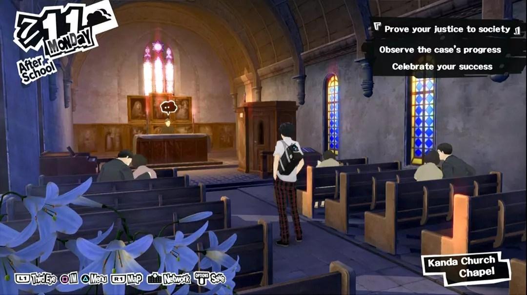 Persona 5 Church.