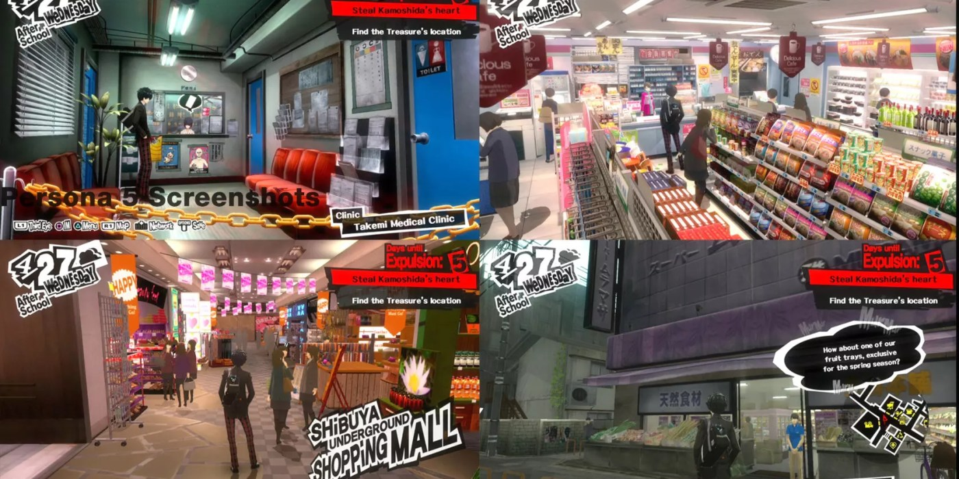 Persona 5 Subway Map.Persona 5 Screenshots Open World Roaming The Scribbling Geek