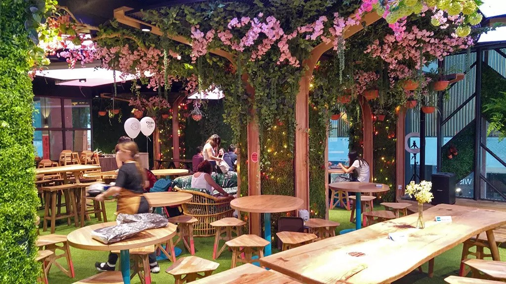 Picnic Urban Food Park at Wisma Atria, Singapore.