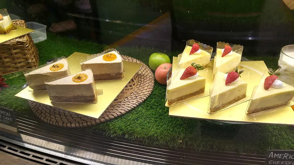 Cheesecakes at Picnic Urban Food Park.