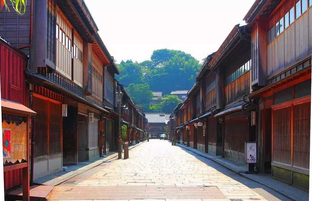 Kanazawa Chaiya district.