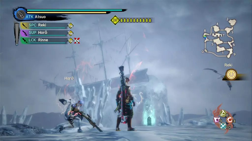 Toukiden Kiwami - The Age of Chaos screenshot.