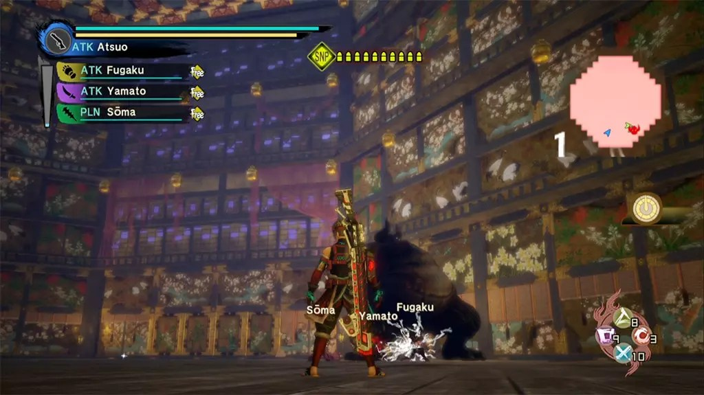 Toukiden Kiwami Age of Peace Boss Fight.