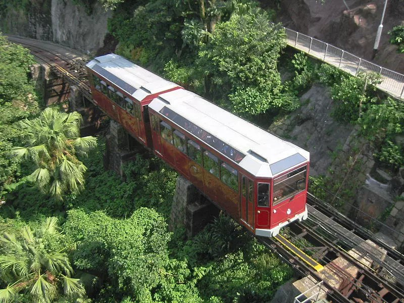The Peak Tram. A must-do when touring Hong Kong?