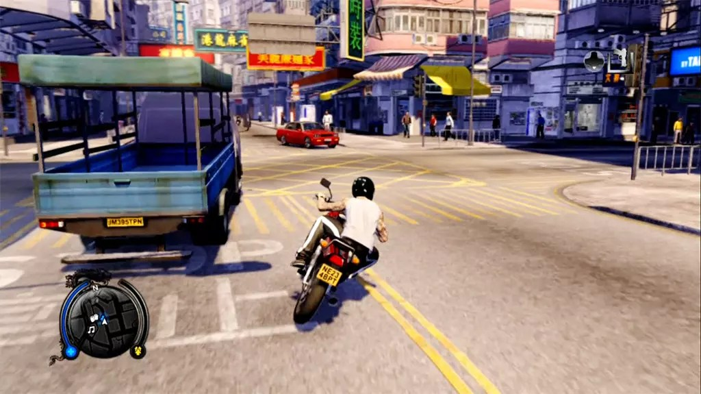 Sleeping Dogs Day Time North Point Screenshot