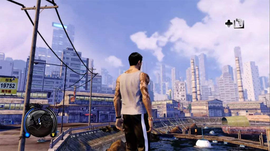 Sleeping Dogs Pier Side Screenshot