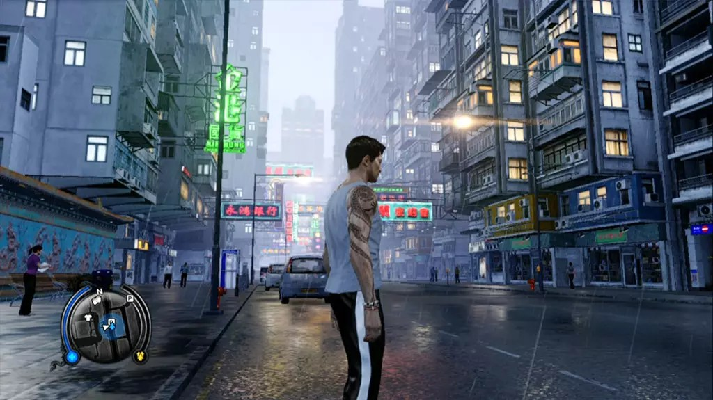 Sleeping Dogs Rainy Evening Screenshot