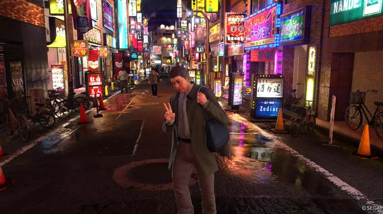 Ryu ga Gotoku 6 Photo Mode