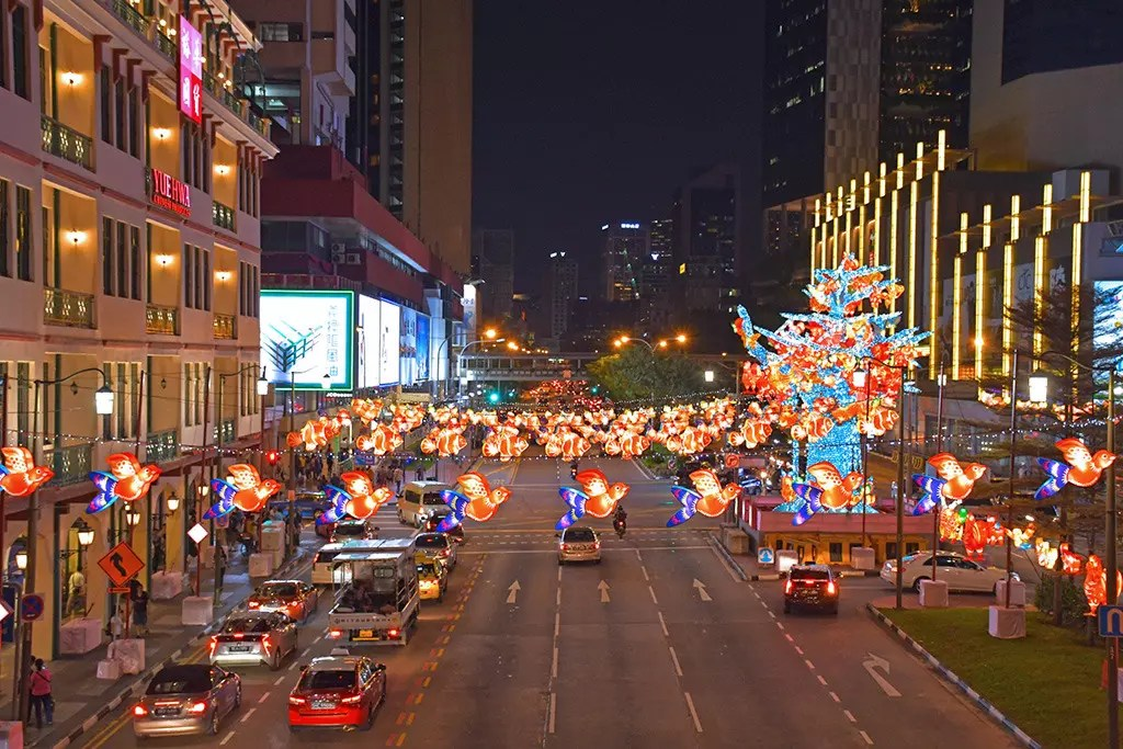 Chinatown Mid-Autumn Festival 2017, Singapore.
