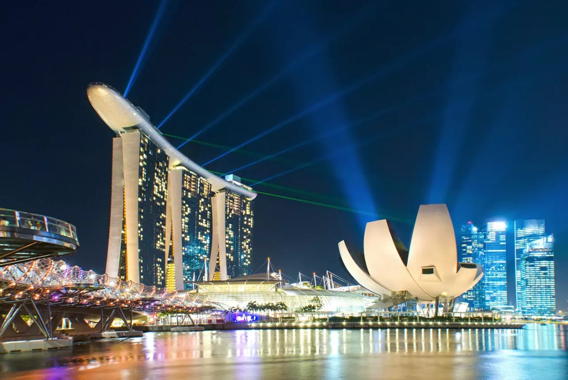 7 Singapore landmarks perfect for video games - Marina Bay Sands