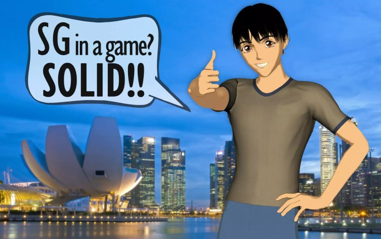 7 Singapore landmarks perfect for video games.