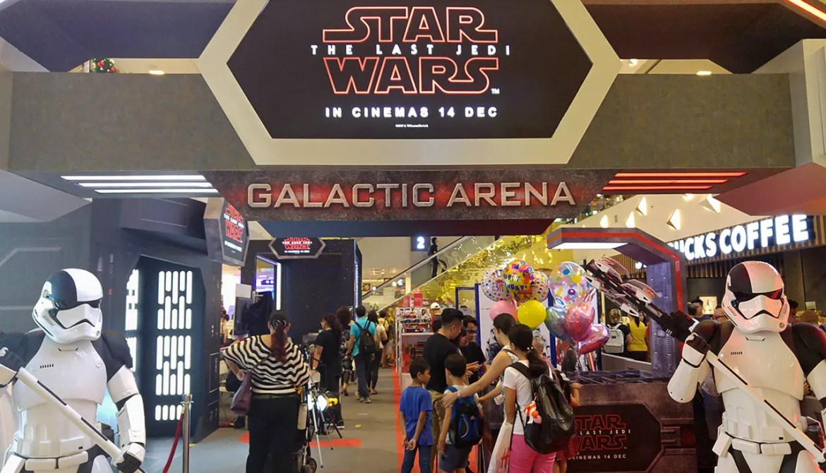 A Star Wars themed weekend in Singapore.