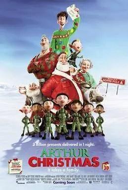 Arthur Christmas Movie Poster.