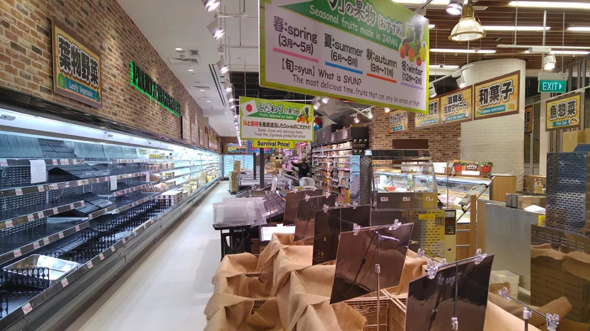 Japan's Donki opens in Singapore!