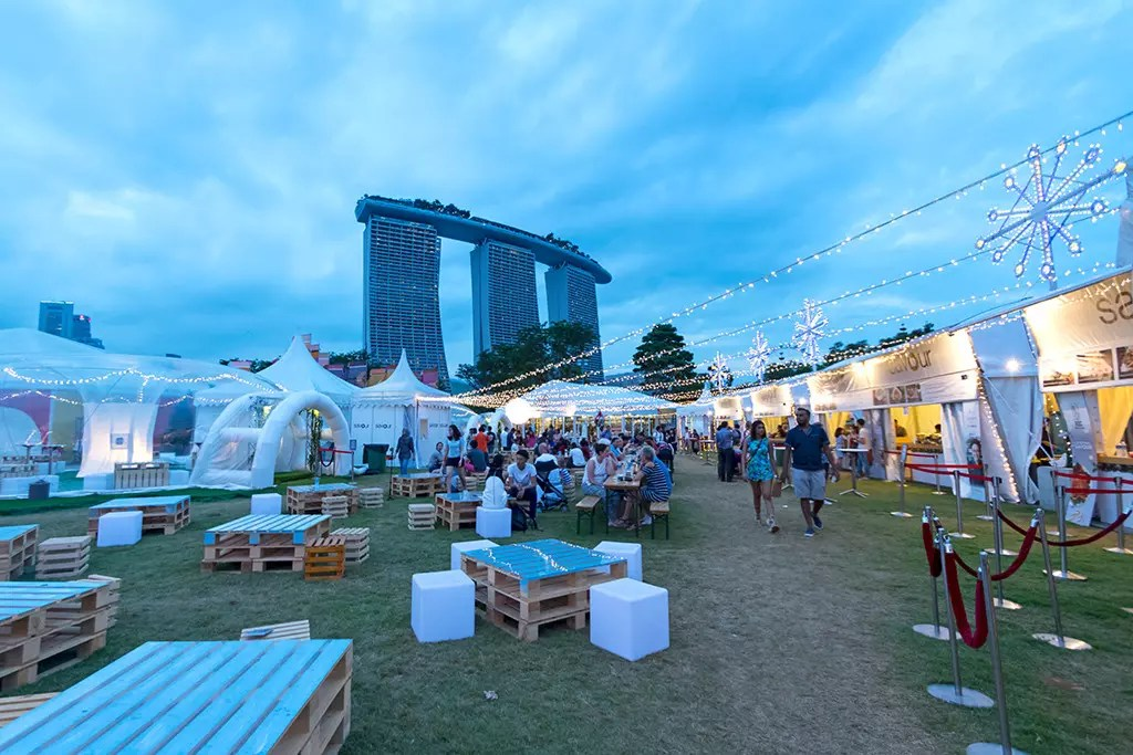 Gardens by the Bay Christmas Wonderland 2017 - Savour Gourmet Village.