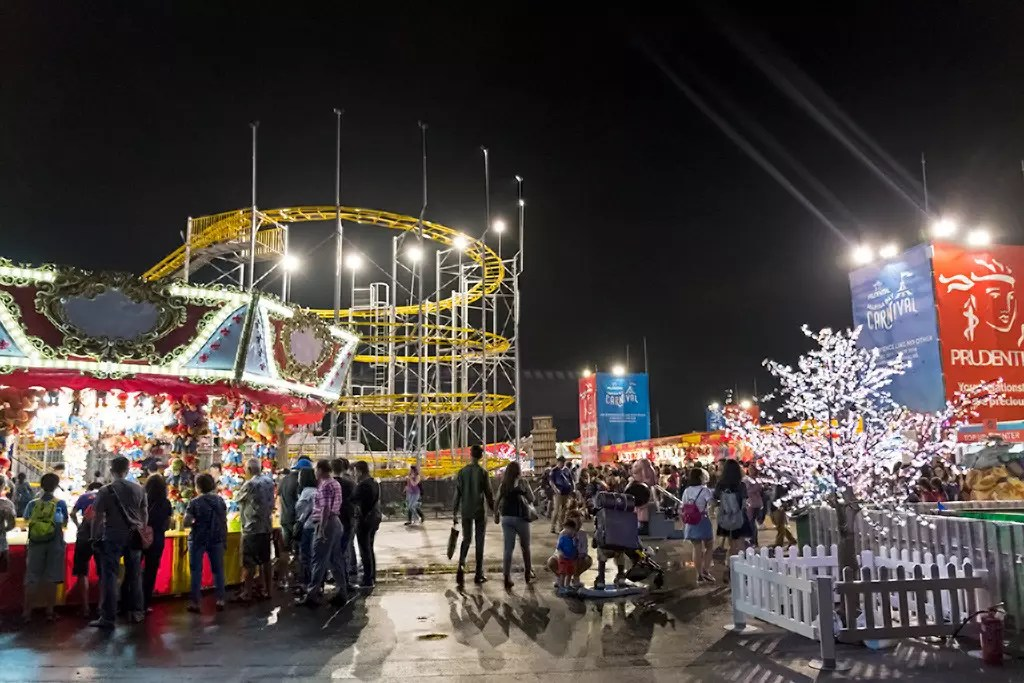 Prudential Marina Bay Carnival 2017 Bayfront Site.