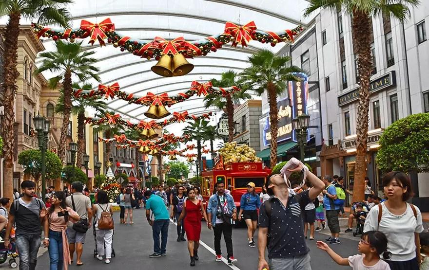Universal Christmas 2017, Hollywood Zone.